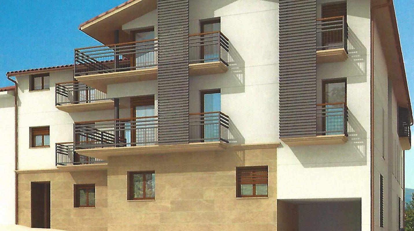 10 viviendas libres Txorralde 7 kalea, Urdiain